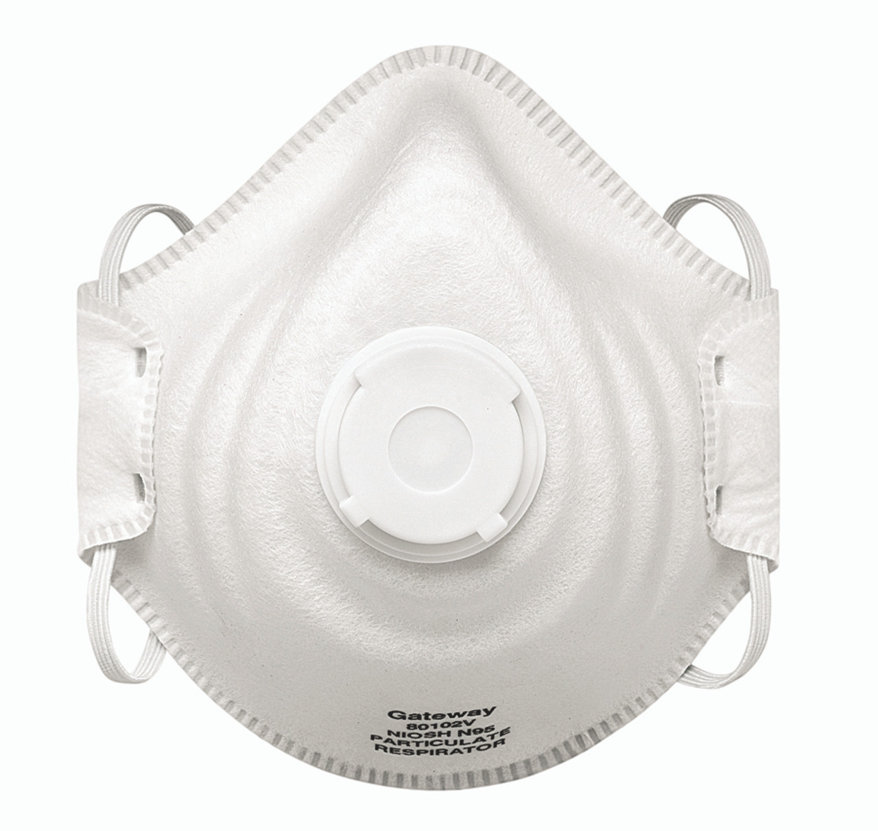 Gateway Safety PeakFit N95 Vented OV Particulate Respirator