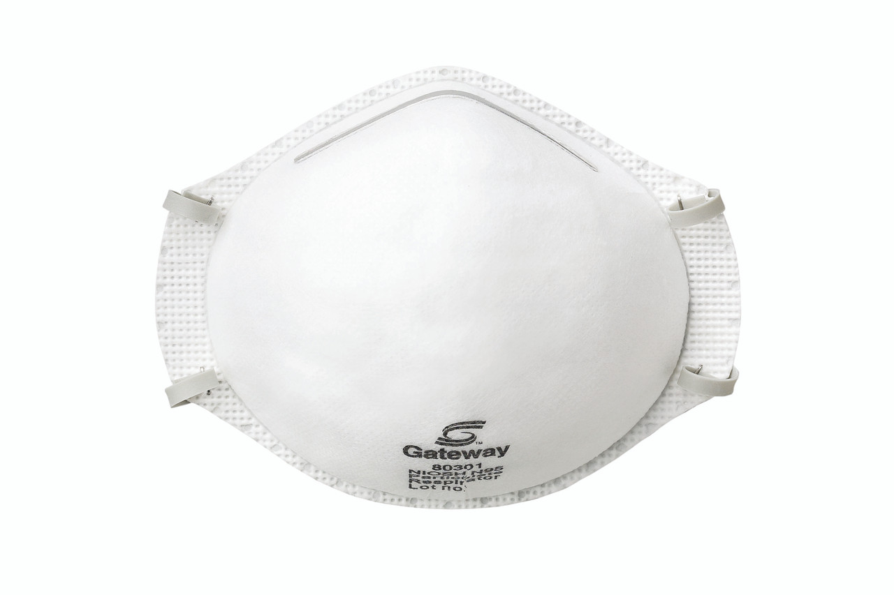 Gateway Safety TruAir N95 Unvented Particulate Respirator