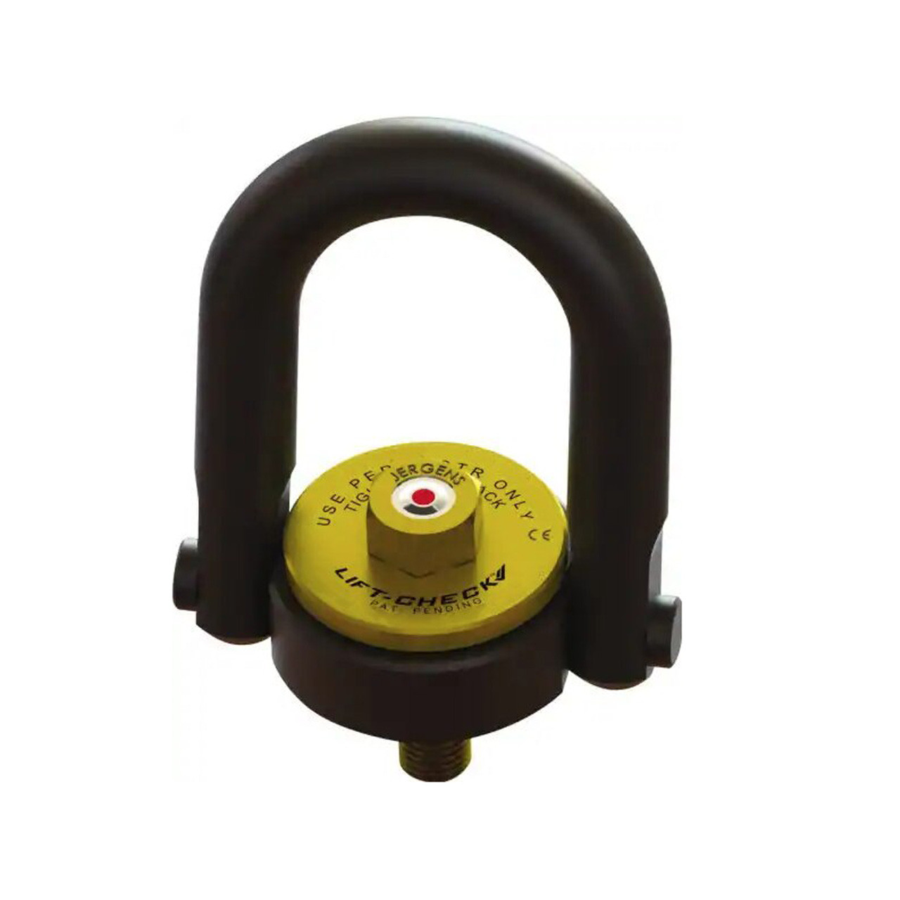 Jergens Inc Lift Check  Hoist Ring 4000 lb Load Capacity 5/8-11-Inch Thread Size EDP: JERG-23416LC