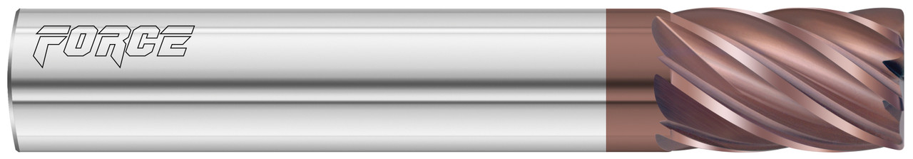Fullerton Carbide 9 Flute 3/4 Inch Length of Cut Uncoated End Mill EDP: 36214
