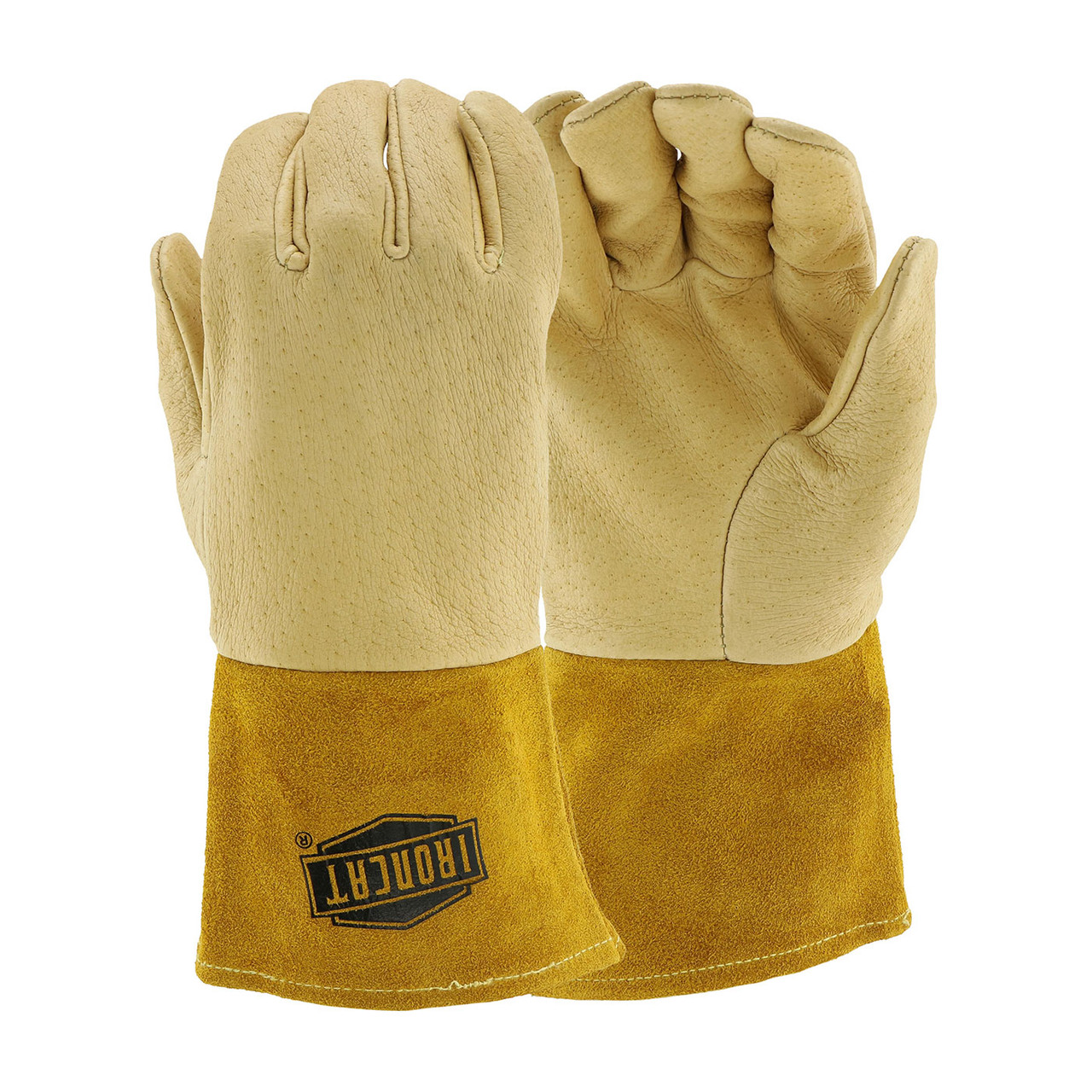 PIP Gloves MIG Welding Pigskin 4 Inch Extra Large EDP: 6021XL