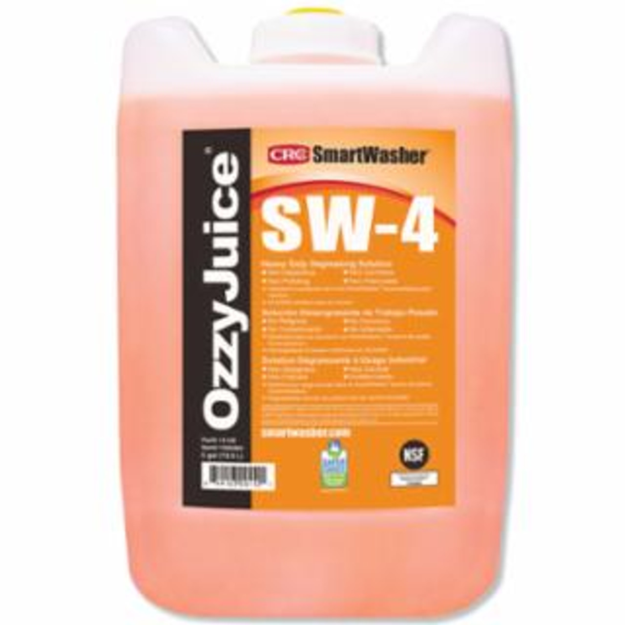 ORS SmartWasher OzzyJuice SW-4 Heavy-Duty 5-gal Jug Degreasing Solution EDP: 125-14148
