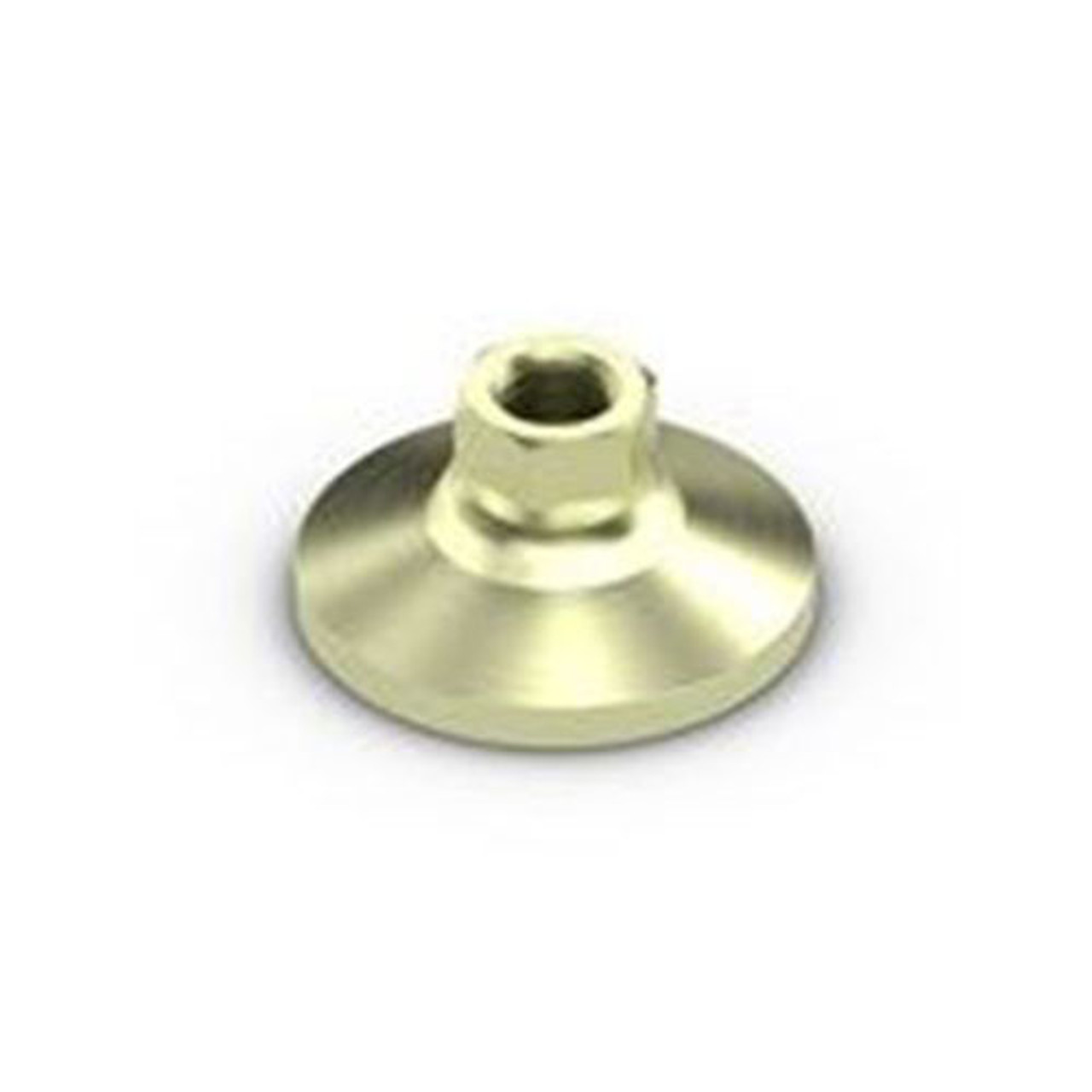 Jergens 5/8 In-11 TPI UNC-2B Thread Type 2-1/2 In Base Diameter 1-1/4 In Height 6000 lb Load Capacity Tapped Leveling Mount EDP: 32610