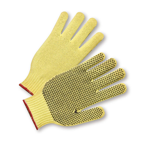 PIP 35KD Kevlar  PVC Coated A3 ANSI Cut Resistant Gloves
