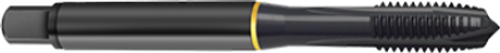 Guhring 4415 M8 x 1.25 3 Flute 2.7200 In Overall Length Metric Coarse 6H Oxide Coating Cobalt Spiral Point Tap EDP: 9044150080000
