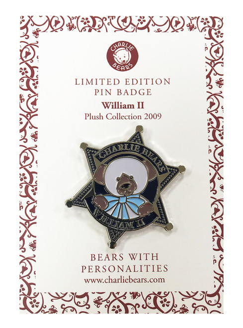 Pin Badge William II