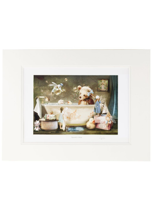 Collectors Print - Squeaky Clean