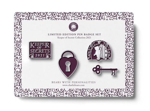 Pin Badge Keeper of Secrets