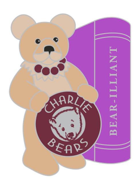 Pin Badge Bear-illiant