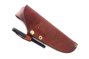Ursus 45 Leather Sheath - Brown (Sheath Only)