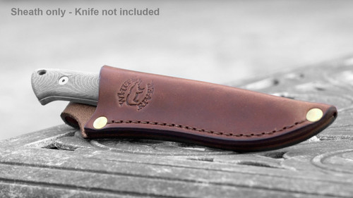 Small Game Leather Sheath - (sheath only)