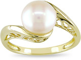 Cultured Freshwater Pearl Ring in 10K Yellow Gold - 7500696078