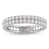 1 Carat Diamond Eternity Ring in 14K White Gold - 7500697075
