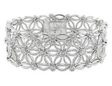 7 1/5 Carat Diamond Bracelet in 18K White Gold - 7500081585
