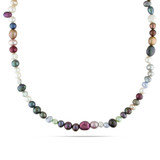 36 inch Multi-Color, Multi-Size & Multi-Shape Freshwater Cultured Pearl Endless Necklace (5-8mm) - 7500054448
