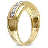 1/2 CT Diamond TW Mens Ring 10k Yellow Gold - 75000000853