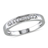 1/10 CT Diamond TW Ring Silver - 75000001915