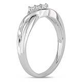 0.05 CT Diamond TW Ring 10k White Gold - 75000002028