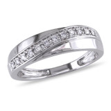 1/10 CT Diamond TW Ring 10k White Gold - 75000001289