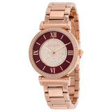 Rose Gold Plated Caitlin Watch - MK3412