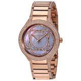 Rose Gold Toned Kerry Mother of Pearl Watch - MK3482