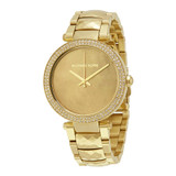 Parker Mother of Pearl Gold Toned Watch - MK6425