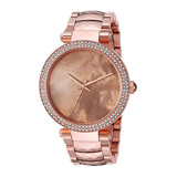Parker Mother of Pearl Rose Gold Toned Watch - MK6426