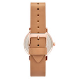 Leather Strap Watch in Rose Gold/White/Beige - TWT004B_Rose_Gold_White_Beige