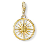 Cubic Zirconia Sunray Yellow Gold Plated - 1765-414-4