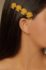 Lorelei Shell Hairpin - lorelei-shell-hairpin-gold