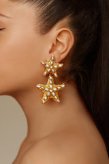 Carlotta Earrings - carlotta-earrings-starfish-pearl-gold