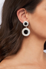 Adela Drop Earrings - adela-drop-earrings-black-onyx-silver