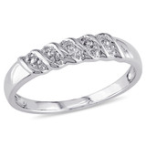 Wedding Band Ring in Sterling Silver - 75000005018