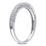 1/10 CT Diamond TW Eternity Ring in 10k White Gold - 75000004968