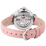 Pierre Lannier Automatic Skeleton Rose Gold Silver/Pink 37mm 312B625