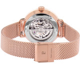 Pierre Lannier Automatic Skeleton Rose Gold Silver/Rose Gold 37mm 313B928