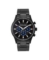 Kastrup Black Dial IP Black Strap Watch - PL.15589JSB/02M