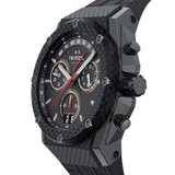 Ace Genesis Limited Edition 44mm Chronograph Black Case Black Leather - ACE114