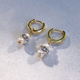 Polly Tiny Drop Earrings - The Golden Circle Jewellery