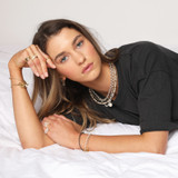 Blanche Wrap Necklace - The Golden Circle Jewellery