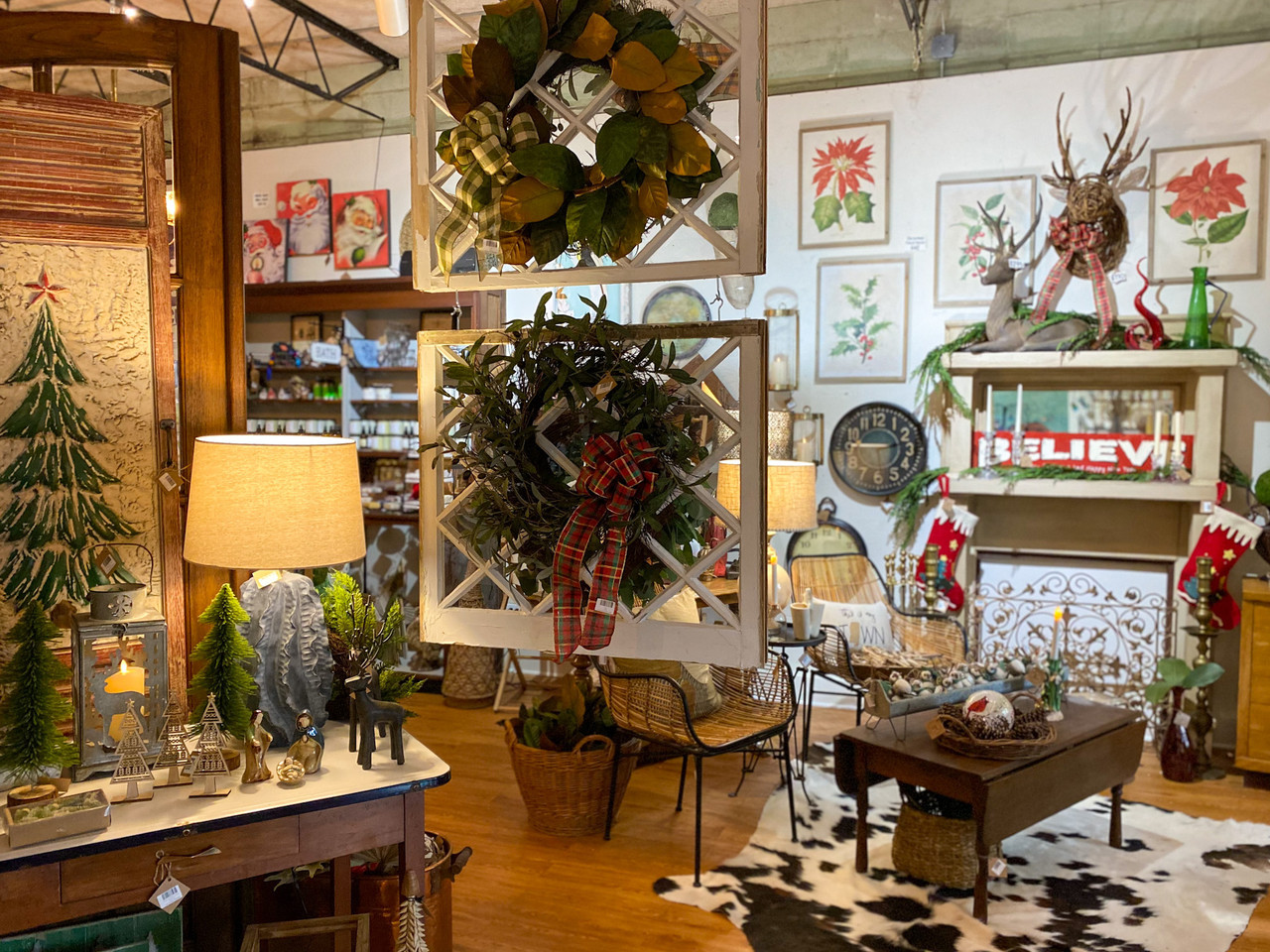 Ocean Springs Mercantile during the Holidays