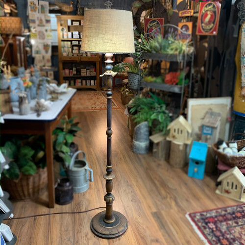 Antique Floor Lamp (Rewired)