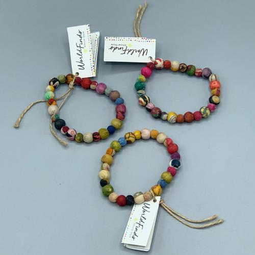 Kantha Jewelry - Poetic Bracelet