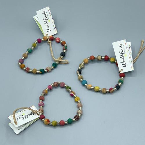 Kantha Jewelry - Orb Bracelet