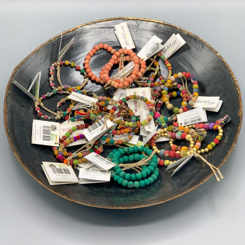 Kantha Jewelry - Recycled, Fair Trade Bracelets, handmade in India