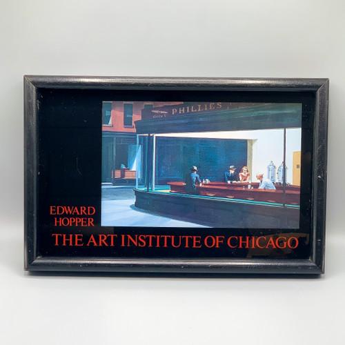 Edward Harper Art Institue of Chicago Framed Print