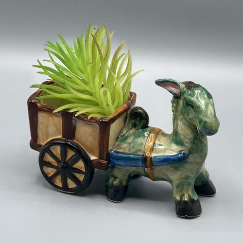 Small Donkey Planter