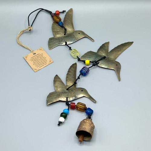 Nana Chimes - Triple Hummingbirds