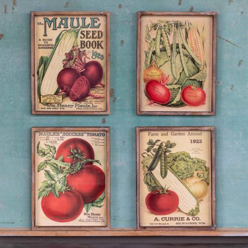 Seed Book Framed Prints