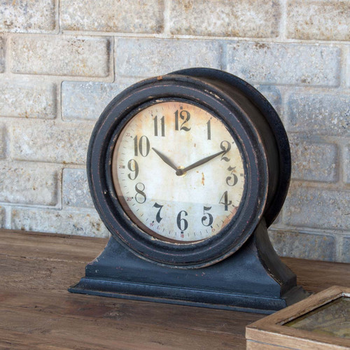 Black Mantle Clock, Small